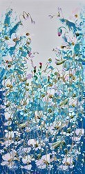 A Field of Wild Flowers V by Mary Shaw -  sized 8x16 inches. Available from Whitewall Galleries